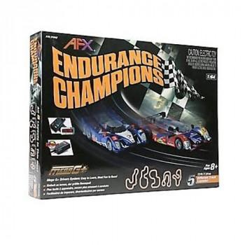 SLOT CARS AFX 1/64 scale , ENDURANCE CHAMPIONS