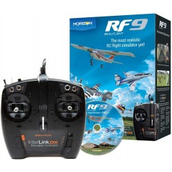 REAL FLIGHT  RF9 FLIGHT SIMULATOR W/INTERLINK DX