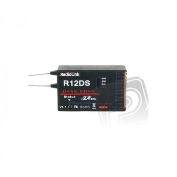 Radiocomanda RADIOLINK AT10II +RECEPTOR R12DS+ TELEMETRIE