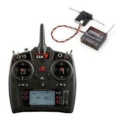 Radiocomanda DX7 7-Canale DSMX® cu receptor AR8000