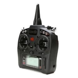 Radiocomanda DX9 Black Edition cu receptor