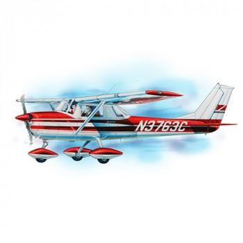 Cessna 150 Laser Cut