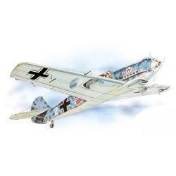 Guillow's  MESSERSCHMITT BF 109  Laser Cut