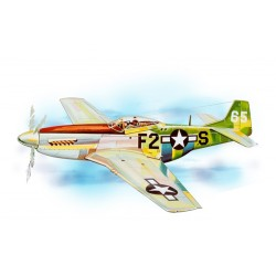 Guillow's P-51 MUSTANG Laser Cut