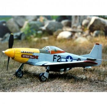 Guillow's P-51 MUSTANG Laser Cut
