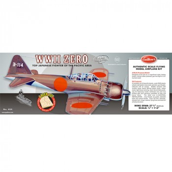 Guillow's MISTUBISHI A6M5 ZERO Laser Cut