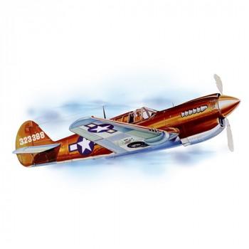 P-40 Warhawk, Laser Cut