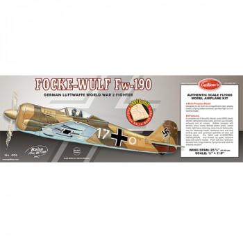 Guillow's FOCKE-WULF FW-190A Laser Cut