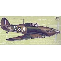 Hauwker Hurricane Mk-1, Laser Cut